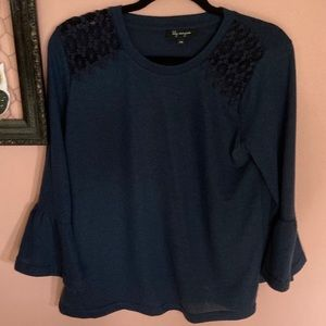 FWP Lily Morgan bell sleeve sweater
